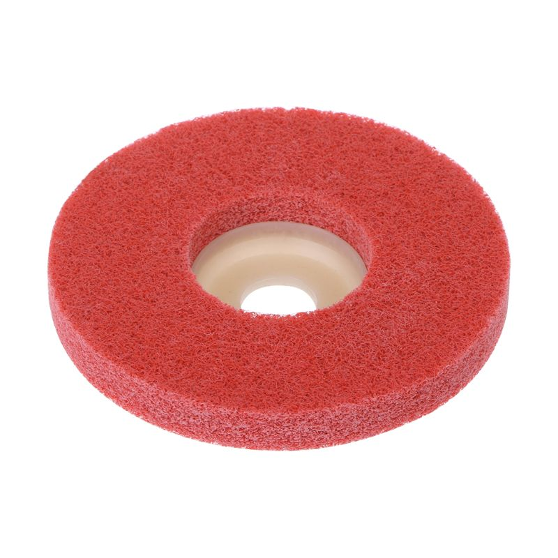100mm Nylon Fiber Polishing Wheel Grinding Disc Abrasive Tools For Angle Grinder