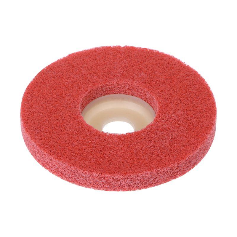 100mm Nylon Fiber Polishing Wheel Grinding Disc Abrasive Tools For Angle Grinder