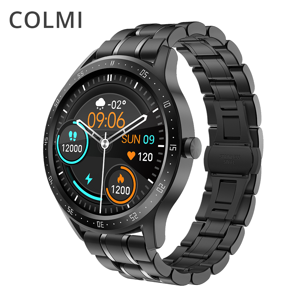 COLMI SKY 5 Smart Watch Men Heart Rate Monitor IP67 Waterproof Bluetooth Smartwatch Global Version For iPhone and android phone 1
