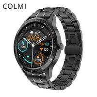 COLMI-reloj inteligente SKY 5 para hombre, accesorio de pulsera resistente al agua IP67 con control del ritmo cardíaco, Bluetooth y versión Global para teléfonos iPhone y android