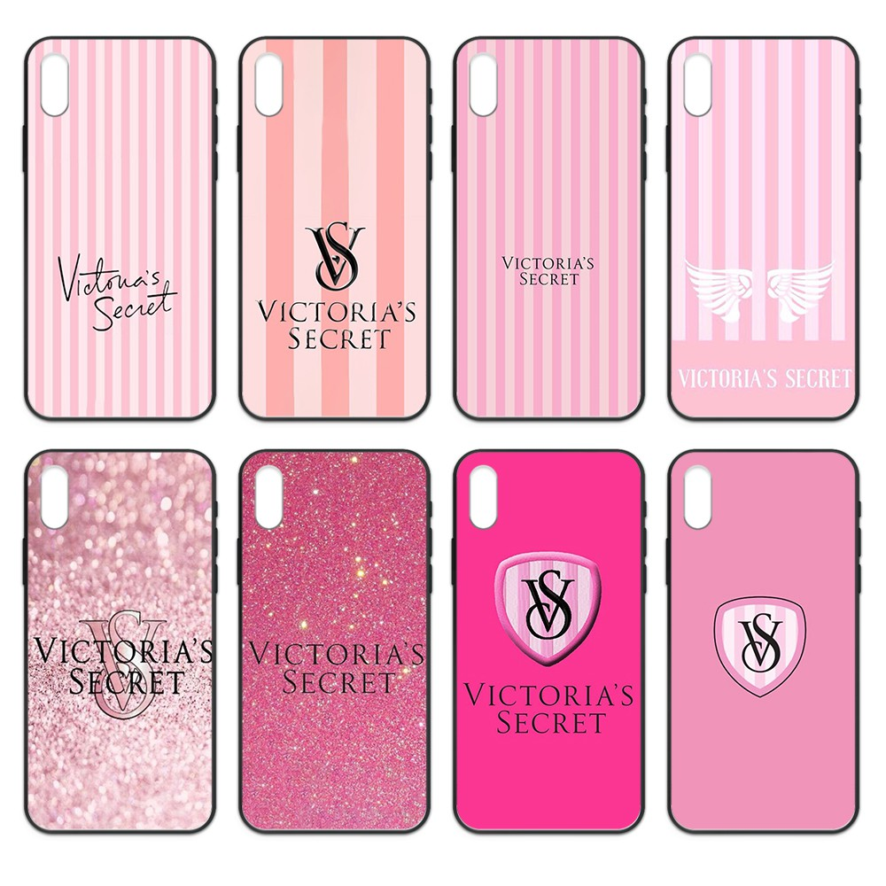 Fashion <font><b>Sexy</b></font> Victoria Pink coque black Phone <font><b>case</b></font> cover hull For <font><b>iphone</b></font> 4 4s 5 5S SE 5C 6 6S <font><b>7</b></font> 8 plus X XS XR 11 PRO MAX 2020 image