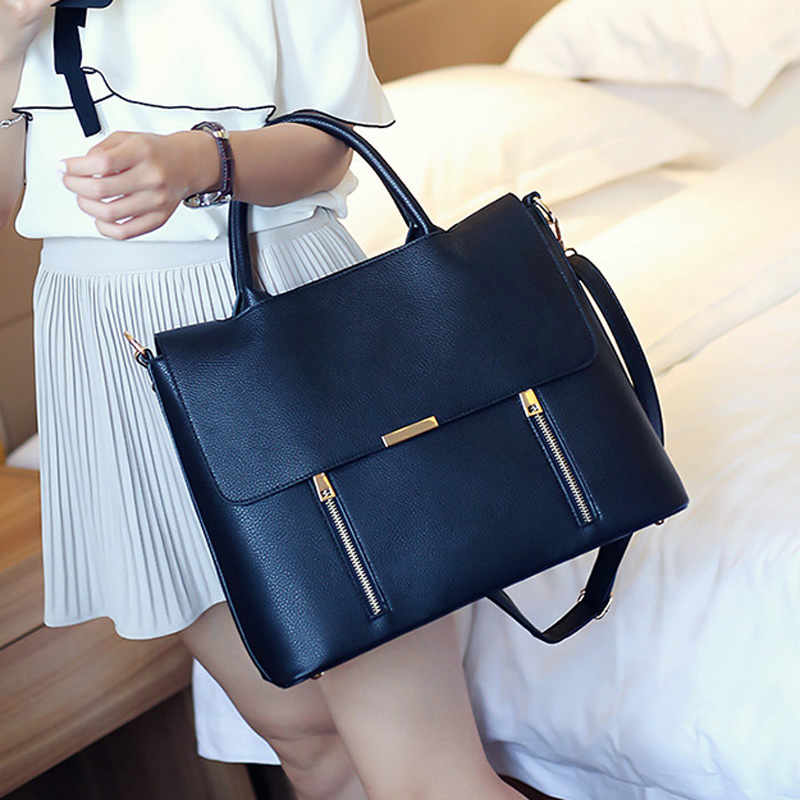 """Business Office Bags For Women Work Bag 13"""" Laptop Bag Bolso Trabajo Mujer Cartable Cuir Femme Women's Leather Briefcase"""
