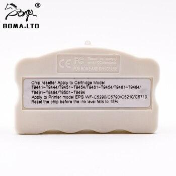 Оригинальный чип для картриджей T9661, T9651, T9641, Resetter для EPSON WorkForce Pro, WF-M5299DW, M5299, M5799, M5298, для принтеров EPSON WorkForce Pro, для принтеров, M5299, M5799, M5298