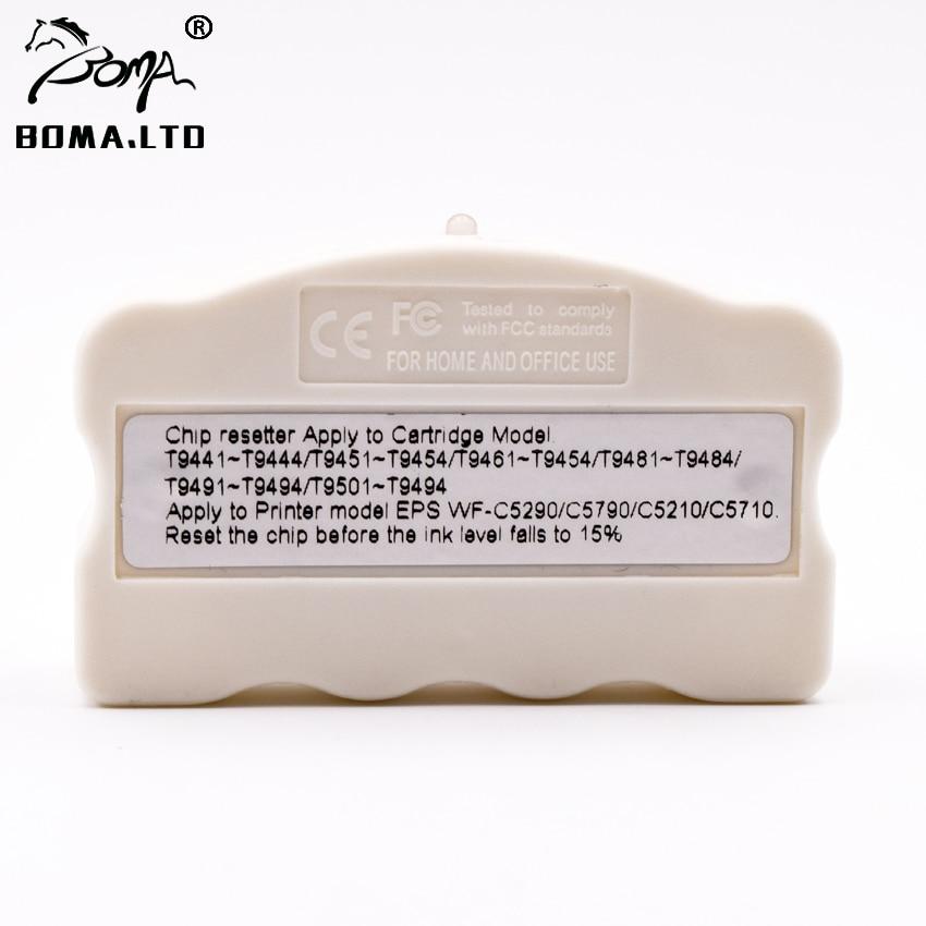 T9661 T9651 T9641 Original Cartridges Chip Resetter For EPSON WorkForce Pro WF-M5299DW WF-5799DW WF-5298DW M5299 M5799 M5298