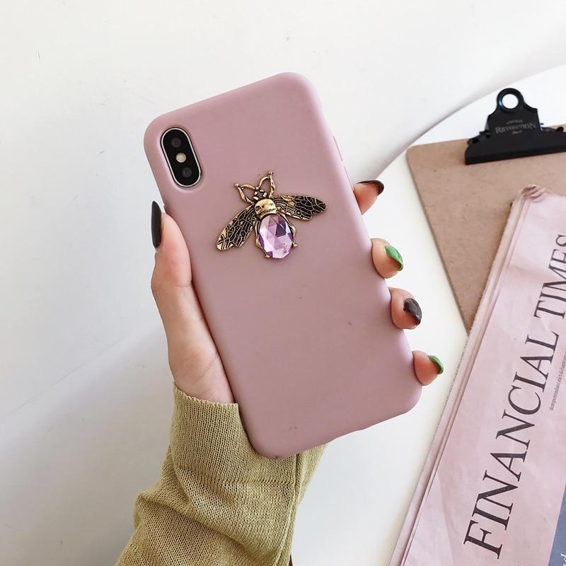 Diamond Bee Case for iPhone SE (2020) 44