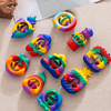 Snapper Sensory squeeze Toys Relieve Anti-anxiety Silicone Fidget Toys Christmas Birthday Present For Kid Adults