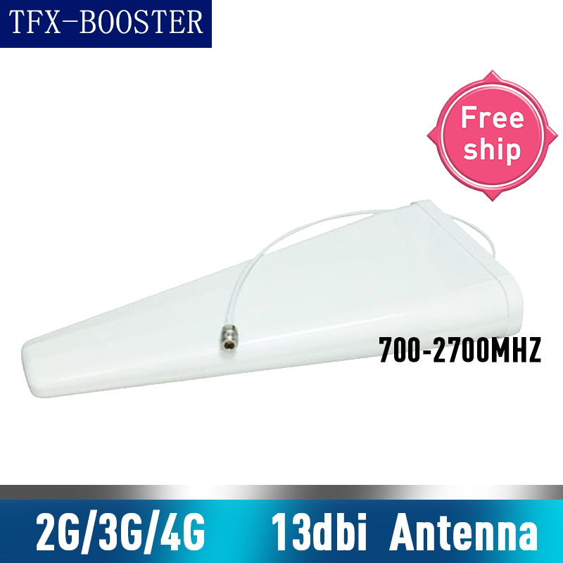 TFX-BOOSTER 13dBi Gain 700-2700mhz Cell Phone Signal Booster Antenna <font><b>GSM</b></font> <font><b>3G</b></font> <font><b>4G</b></font> <font><b>LTE</b></font> Log Periodic External Antenna For Repeater image