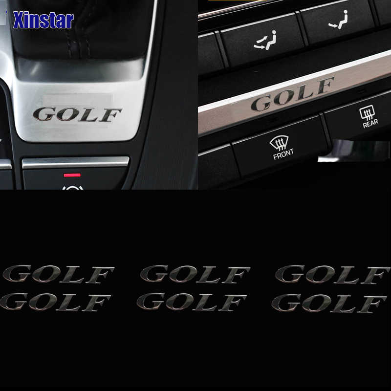 2pcs 자동차 사이드 미러 스티커 폭스 바겐 golf6 golf7 MK4 mk5 mk6 mk7 골프 GTI golfr