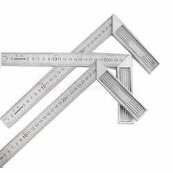 Aluminum alloy square ruler right angle 90 Turning ruler Woodworking ruler Steel turning ruler measuring tools gauge