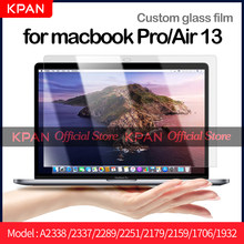 KPAN Macbook pro Air 13.3 2016-2020 M1 Flexible Glass screen protector HD A2338 A2337 A2289 A2251 2179 2159 1706 1708 1932 1989