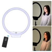 YongNuo YN608 Selfie Ring Light 3200K~5500K Bi Color Temperature Wireless Remote LED Video Light CRI>95 with Handle Grip