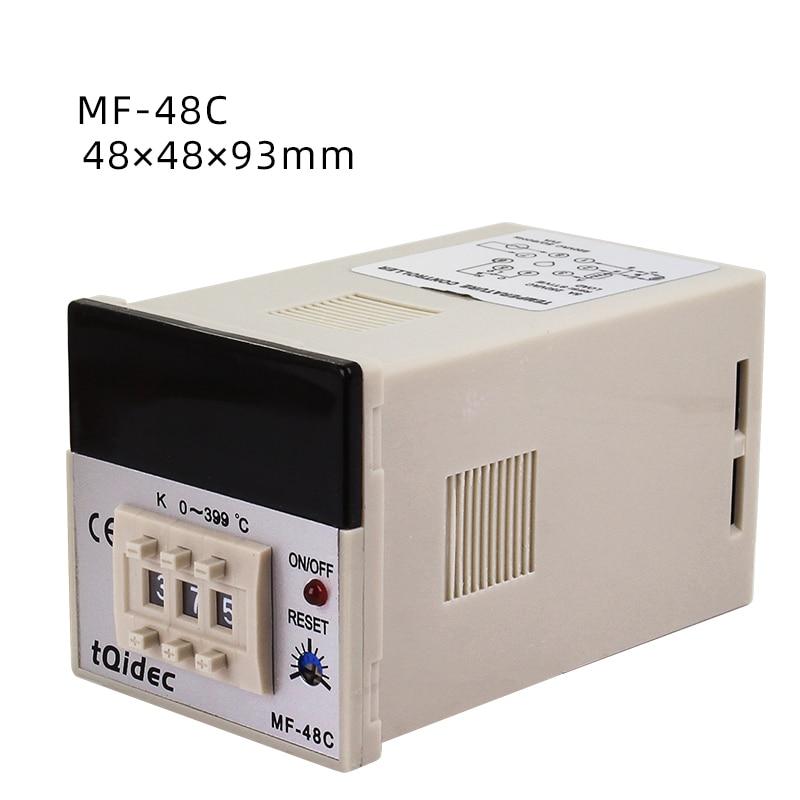 Temperature-Control Dial-Code-Adjustment-Control Digital Display MF-48C