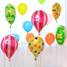 Cartoon Hot Air Balloon Children Inflatable Toy Happy Birthday Mall Store Home Celebration Bar Party School Decorations