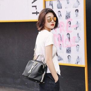 Image 3 - Vento Marea bolsos cruzados para mujer, de diseñador de lujo, bolso de hombro femenino de marca, monederos Retro Hobo de cuero suave, 2019