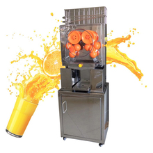 Коммерческая автоматическая соковыжималка для апельсинов из нержавеющей стали