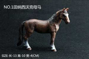 Image 2 - Kinder Simulation Zoo Modell Spielzeug Wilde Tiere Wild Horse Racing Pony Einrichtungs Fotografie Requisiten Handwerk Ornamente