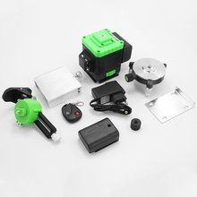 12 Lines 4D Laser Level Green Line Self-Leveling 360 Horizontal And Vertical Powerful Laser Level Green Beam Laser Level aculine ak437g green 2 lines green laser level green ray level