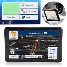 Écran tactile HD de 5.0 pouces pour voiture, dispositif de Navigation GPS, chargeur USB, transmetteur FM, navigateur FM, lecteurs MP3/MP4, prend en charge la russie