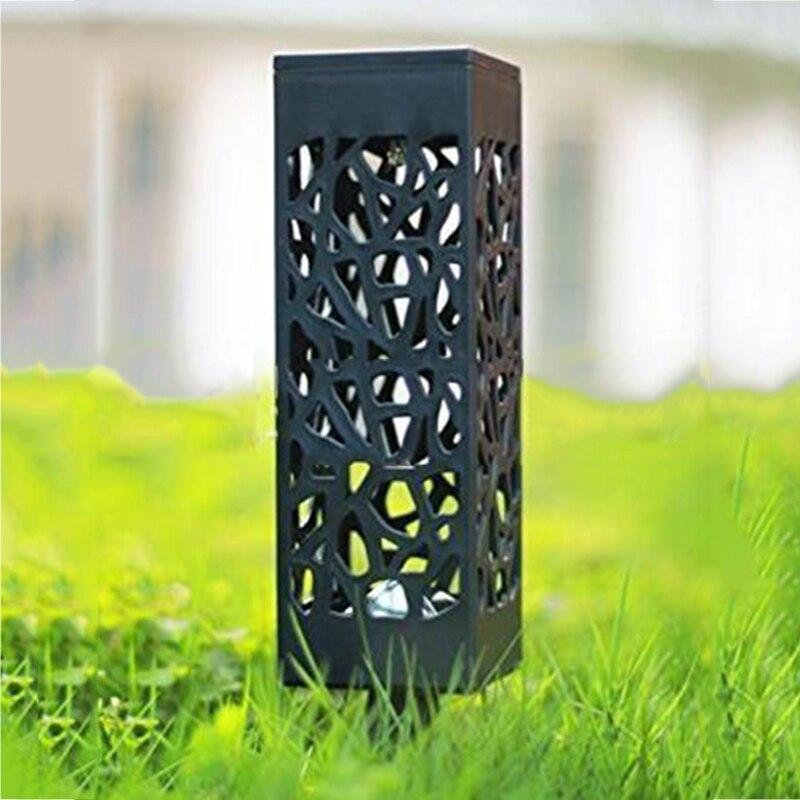 Luz Solar Led para decoración de jardín lámpara de césped exterior Camino de casa bombilla de Sensor de luz Solar impermeable farol