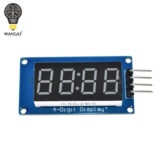TM1637 LED Display Module For Arduino 7 Segment 4 Bits 0.36 Inch Clock RED Anode Digital Tube Four Serial Driver Board Pack 3