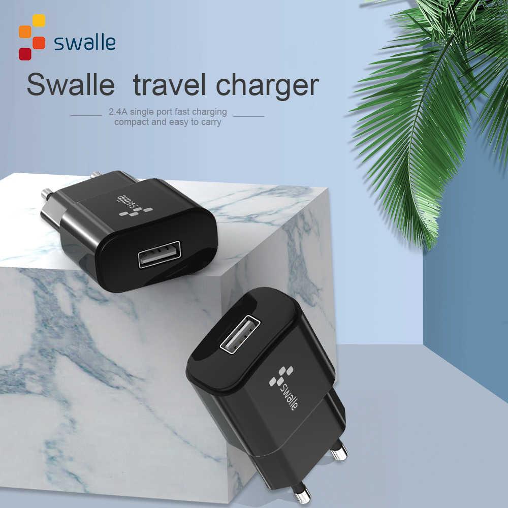 Swalle Sạc Nhanh Thông Minh Nhanh USB Sạc Tường Dành Cho Xiaomi Samsung Huawei Sạc Nhanh Điện Thoại Di Động Sạc Adapter