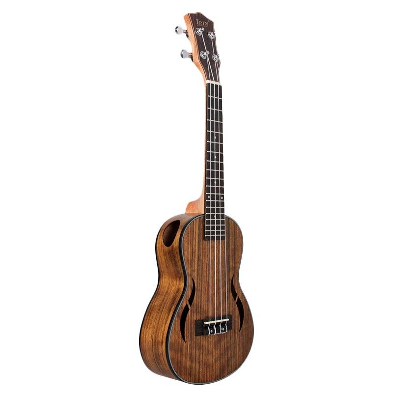 ABZB-IRIN Concert Ukulele 23 Inch Walnut Wood 18 Fret Acoustic Guitar Ukelele Mahogany Fingerboard Neck Hawaii 4 String Guitarra