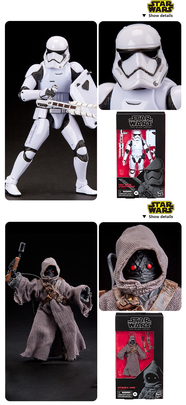 Star Wars The Black Series First Order Action Figures 15cm 6