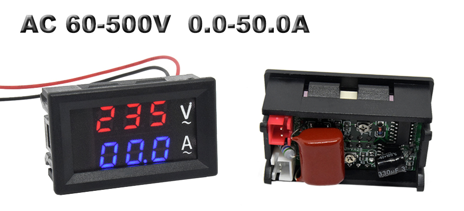 voltage current meter tester