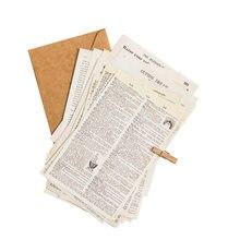 57 folhas do vintage inglês antigo livro série material papel decoração diy scrapbooking adesivos papelaria diário planejador lixo jornal