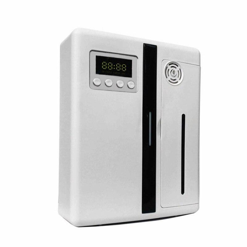 Difusor de Óleo essencial De Máquina Sistema de Soluções de Marketing Perfume Aroma Ventilador Automático Dispensador de Loja Do Hotel Frasco de Perfume Do Pulverizador 160Ml
