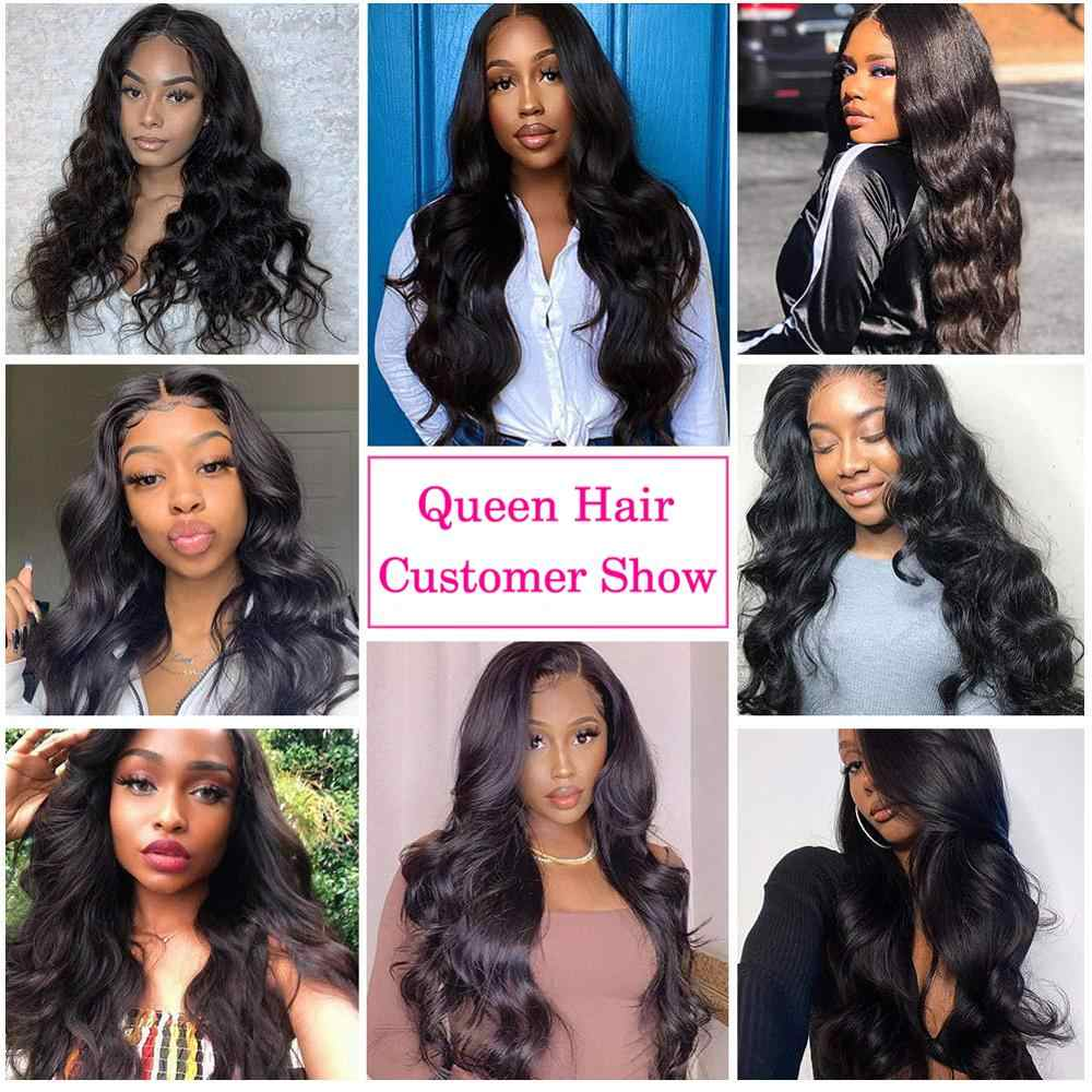 Königin Haar Produkte Brasilianische Körper Welle Haar Bundles 100% Remy Menschen Weave Haar Extensions 1/3/4 Bundles Natürliche Farbe Haar