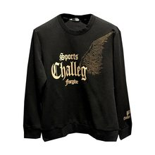 2021 moda męska nowe skrzydło Hot Rhinestone Print pulower z okrągłym dekoltem bluza z kapturem modna koszulka z długim rękawem
