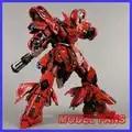 I Fan di Modello in Stock Jianggao Modello Mb Metalbuild Gundam 1/100 Sazabi Lega Contengono Ha Condotto La Luce di Azione Robot Figura Giocattolo