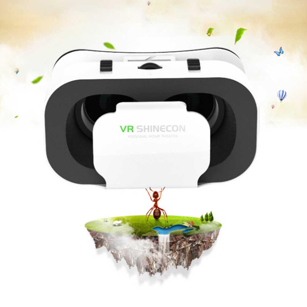Portable 4.7-6 Inci Ponsel Vr Kacamata Box 3D Kacamata Headset Helm