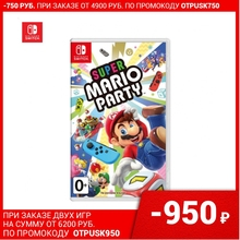 Игра для Nintendo Switch | Super Mario Party