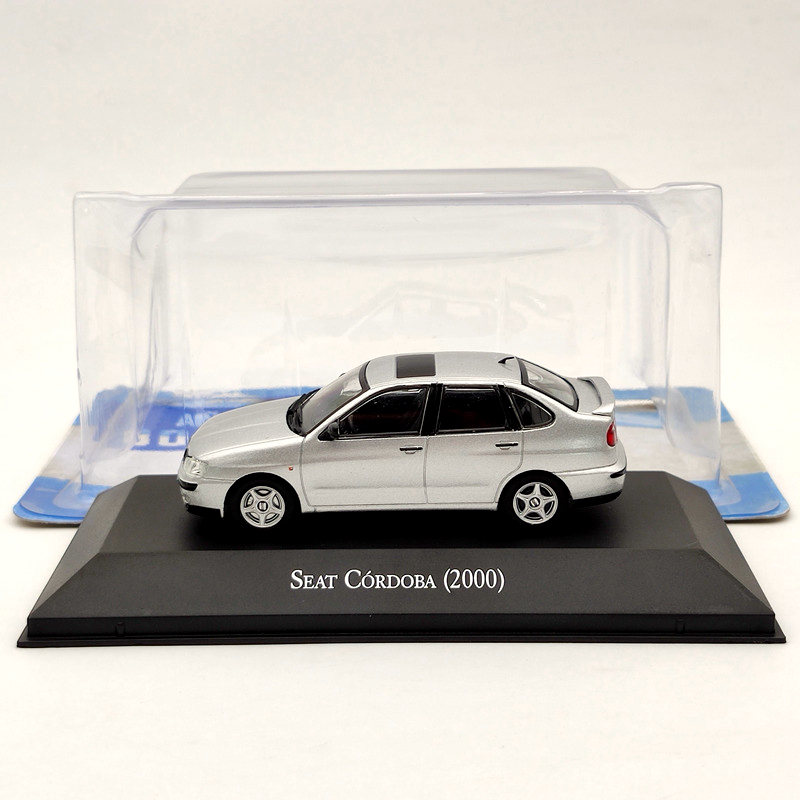 IXO 1:43 For Seat Cordoba 2000 Silver Diecast Models Limited Edition Collection