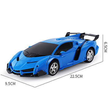 26 Styles RC Car Transformation Robots Sports Vehicle Model Robots Toys Remote Cool RC Deformation Cars Kids Toys Gifts For Boys 5