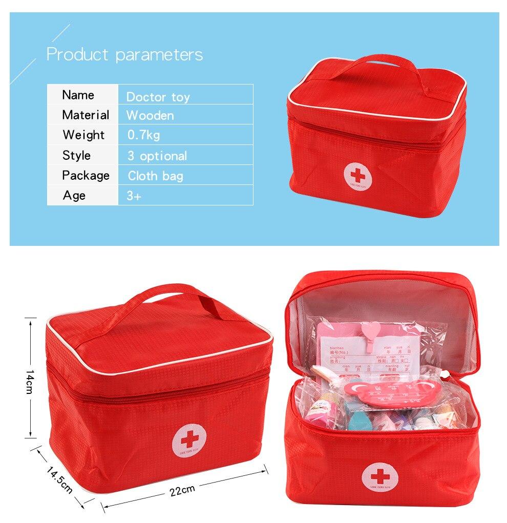 médicos crianças educação caixa de medicina carry