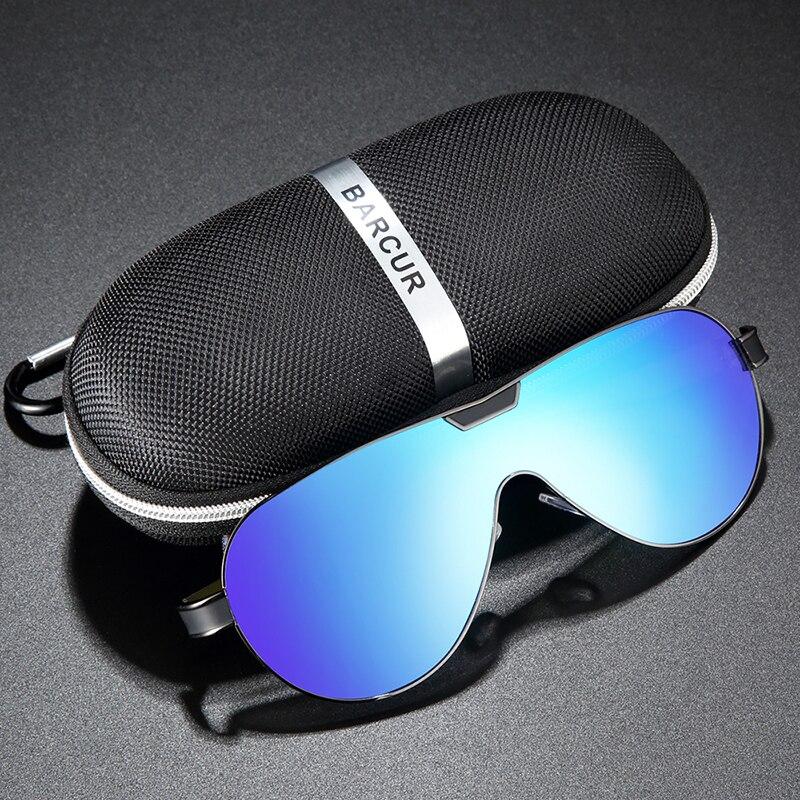 Hd96bd24bd1e34270a71b66e582aeeb57O BARCUR Driving Polarized Sunglasses Men Brand Designer Sun glasses for Men Sports Eyewear lunette de soleil homme