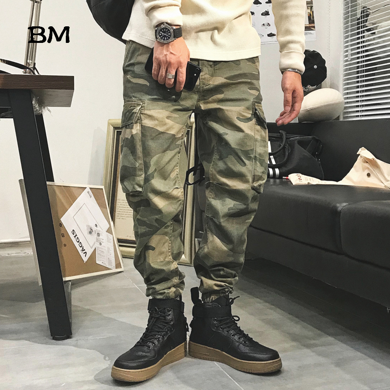 Cargo Military Pants High Quality Camouflage Tactical Pants Men Fashions Streetwear Joggers Casual Trousers Army Camo Pants