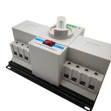 Commutateur de transfert automatique Double/Double puissance, haute qualité, 4P 63A 50A 40A 32A 380V, intégration manuelle, type MCB