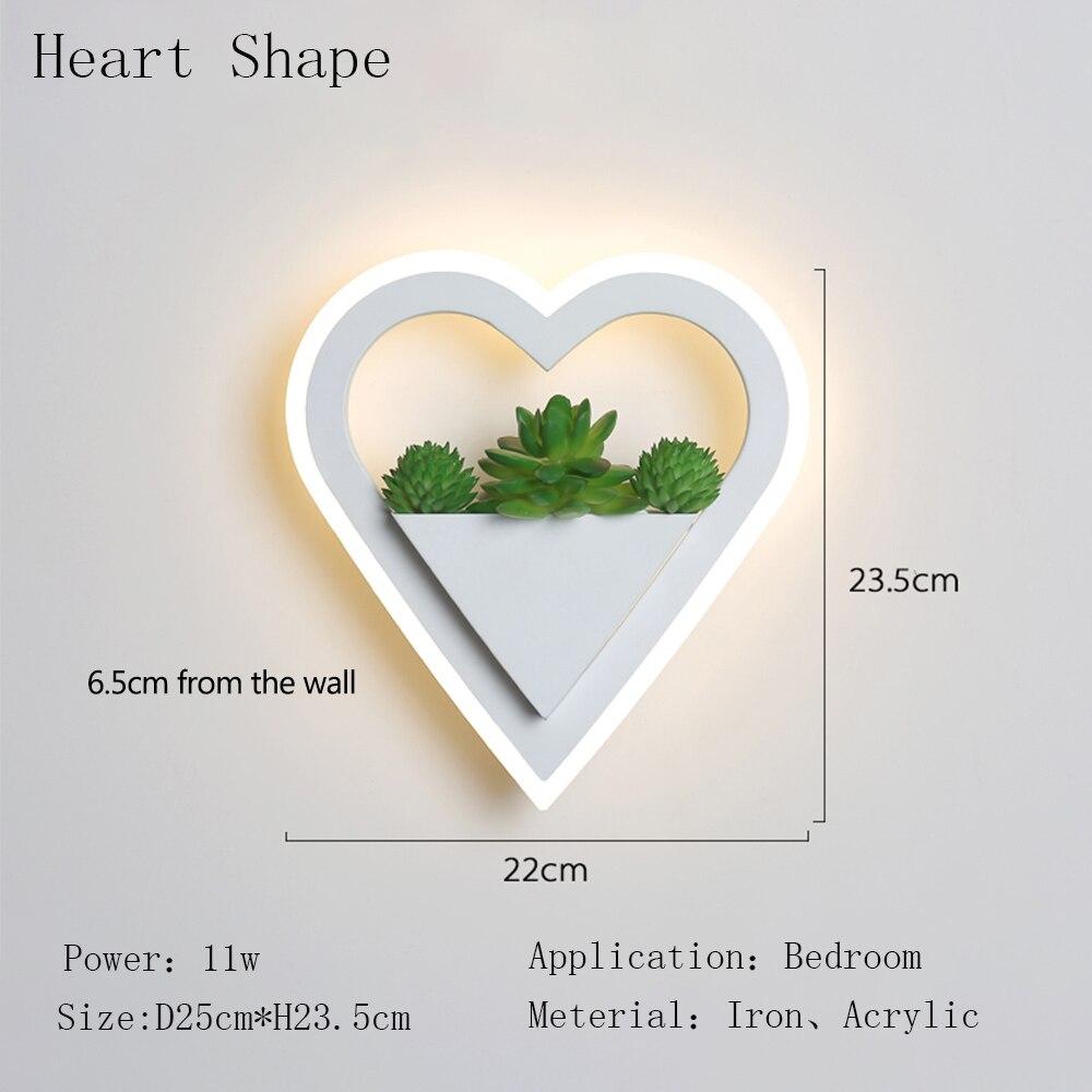 Heart Shape 11w