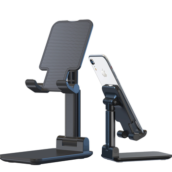 Mobile Phone Stand Desktop Lazy Bedside Universal Support Stand Foldable and Hoisting Multi-Function Telescopic Adjust 1