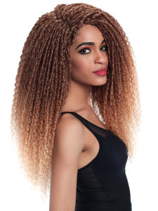 Hair-Bundles Weave Blonde Synthetic-Hair Afro Kinky Curly Fashion Idol 5pcs/Pack Black-Color