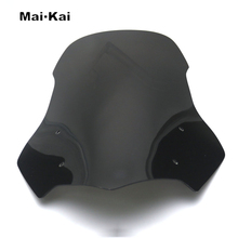 MAIKAI For HONDA NC700 NC750 2016-2019 Motorcycle Windscreen Wind Deflector Windshield Head Cover Sun Visor Viser