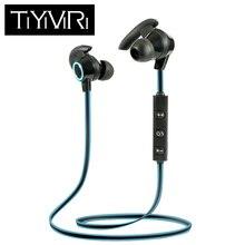 TiYiViRi AMW-810 Sports Bluetooth Earphones Wireless V4.1 Headphones Stereo Bass Headset with Mic for Huawei iPhone