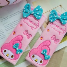 Cute cartoon Pudding dog my melody seat belt cover(China)
