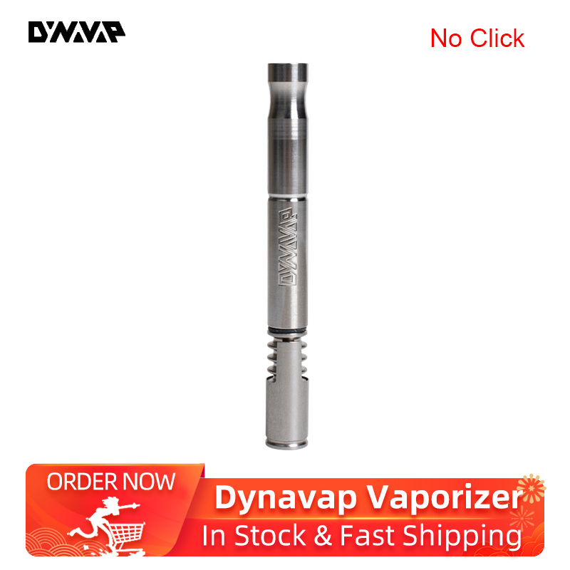 No Click Version Original Dynavap Dry Herb Vaporizer Smoking Pipe Portable Vape Pen For Concentrates VS VapCap M