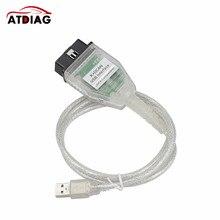 Cable de interfaz USB para BM-W INPA K + CAN K CAN INPA con Chip FT232RL, sin interruptor para BM-W INPA K DCAN, con 20 pines para BM-W, nuevo