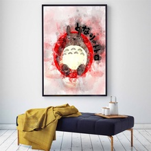 My Neighbour Totoro Ghibli Miyazaki Hayao Classic Anime Movie Art Painting Canvas Poster Wall Home Decor death is now my neighbour
